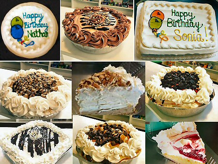 Ice Cream Cakes Jim Thorpe Lehighton Weissport Lehigh Valley Poconos Pennsylvania